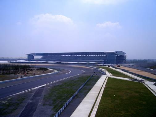 要求最高的赛道.施工中该工程采用了沉降控制复合桩、大规高清图片